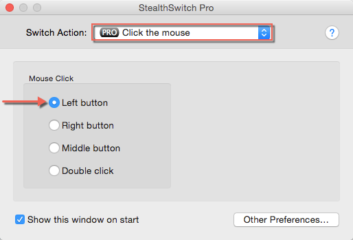 Program Left Mouse Click Mac